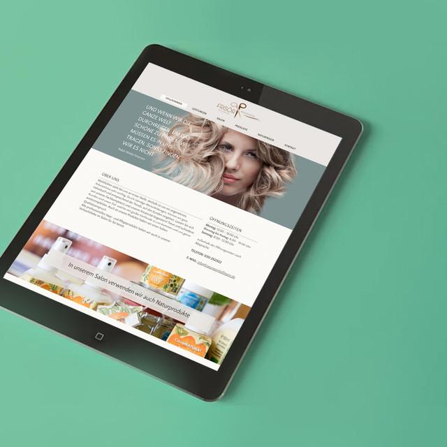 Gestaltung und Umsetzung der Website