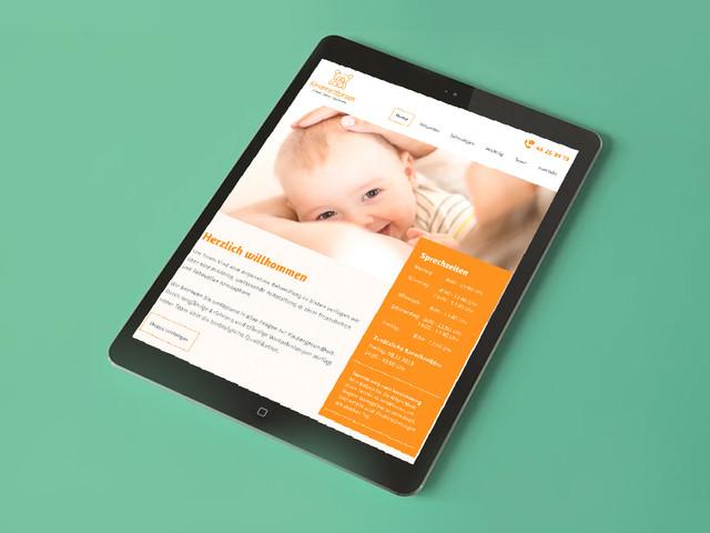 Web Design Kinderarztpraxis