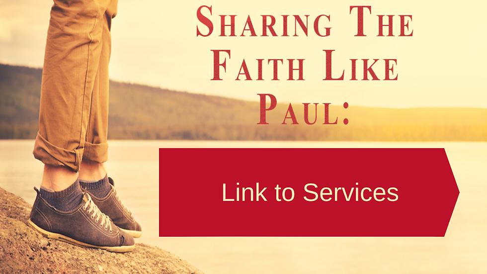 Sharing the Faith Like Paul slideshow pi