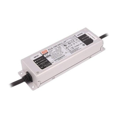 MEAN WELL ELG-100-24 3y CARICA Alimentatore SWITCHED-MODE LED 96W 24VDC 4A