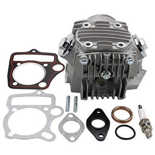 TESTA MOTORE QUAD ATV 125CC 4 TEMPI VALVOLE inclusi I TAPPI - miniquad PIT BIKE