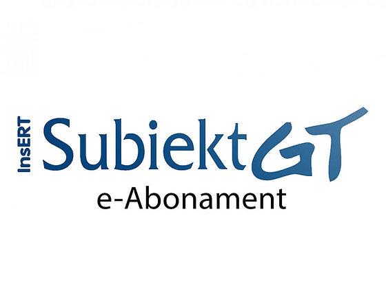 E-abonament Subiekt GT