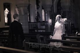 Wedding Kirkintilloch in church