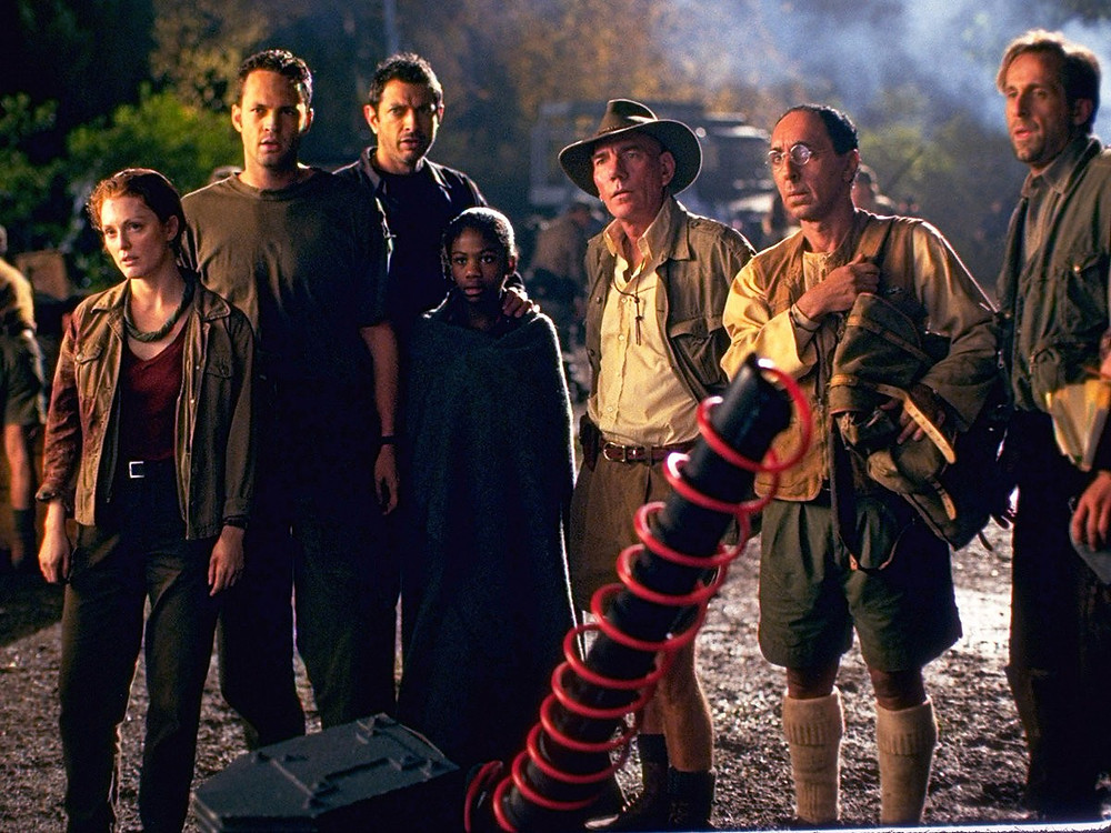 The cast of The Lost World: Jurassic Park