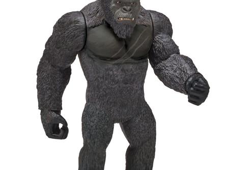 First Look At PlayMates 11 Inch Godzilla And Kong Figures From Godzilla vs Kong