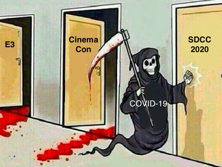 CinemaCon Cancelled Due To The Corona Virus; Current Status For San Diego Comic-Con