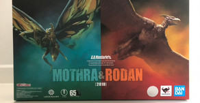 S.H. MonsterArts Mothra & Rodan 2019 Pack