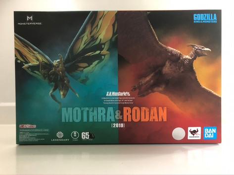 S.H. MonsterArts Mothra & Rodan 2019 Pack