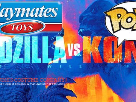 Legendary And TOHO Announces Their Global Retail Program For Godzilla vs Kong