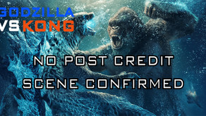 There Will Be No Post Credit Scene In Godzilla vs Kong