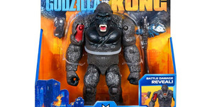 First Look At PlayMates Toys 6 Inch Kong With Axe Toy