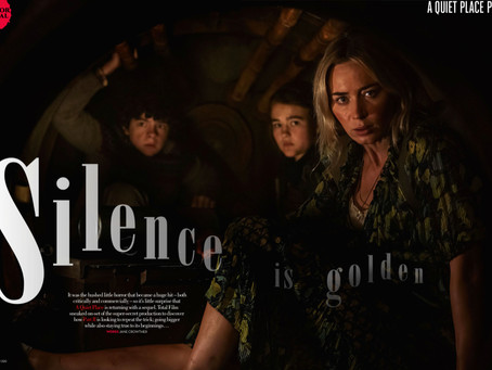Total Film Magazine Goes On The Set Of 'A Quiet Place Part 2'
