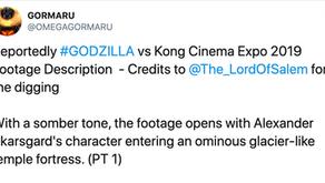 Godzilla vs Kong Cinema Expo Clip Description Revealed?