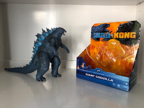 Review: PlayMates Toys 11 Inch Giant Godzilla (2021)