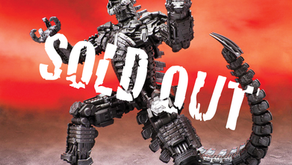 S.H. MonsterArts MechaGodzilla (2021) Has Mostly SOLD OUT!