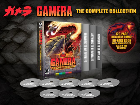 Gamera: The Complete Collection Now Available For Pre-order