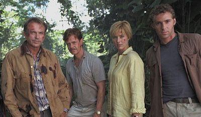 Dr. Alan Grant, Paul Kirby, Amanda Kirby, and Billy Brennan