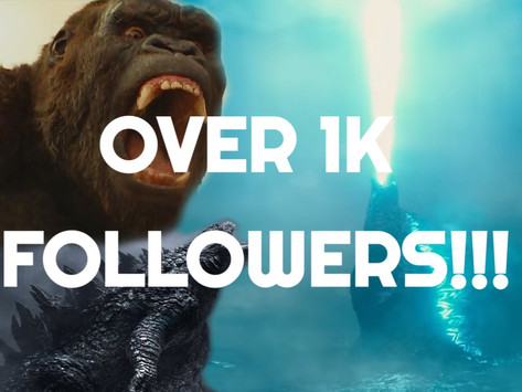 WE HAVE REACHED OVER 1000 FOLLOWERS!!!