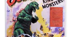 NECA Reveals Godzilla 1956 Poster Version