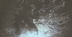 New Cave Painting Image For Godzilla: King Of The Monsters