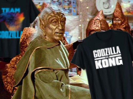 January Godzilla vs Kong Merchandise Round Up