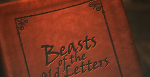 1762-BOL-1: Beasts Of The Old Letters