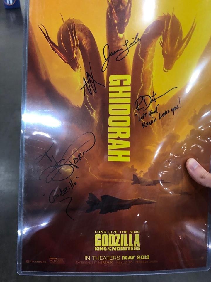 Poster signed by Jason Liles, Alan Maxson, Richard Dorton, and T.J. Storm