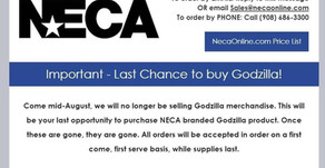 NECA Announces The End Of Their Godzilla Toy Line