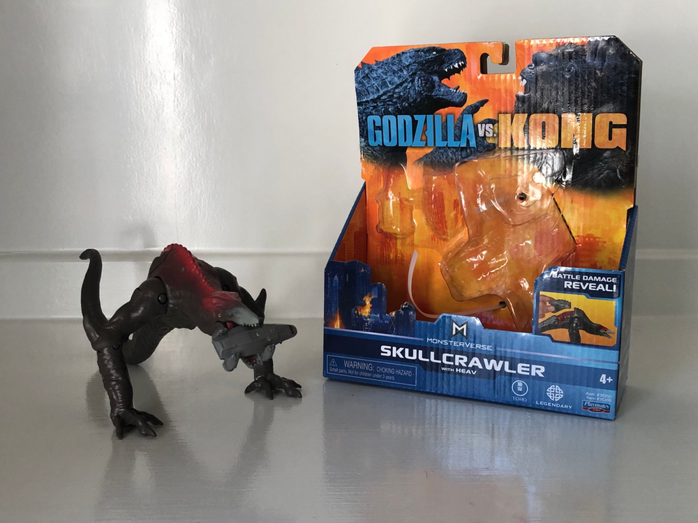 Playmates Toys Skull Crawler With Heav Review