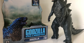 """Jakks Pacific 12"""" Godzilla: King Of The Monsters Action Figure Review"""