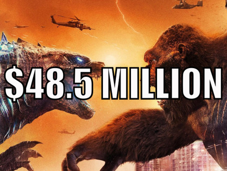 Godzilla vs Kong Makes $48.5 Million Over 5 Day Easter Weekend