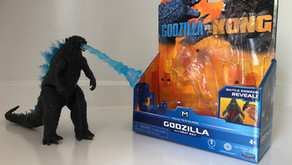 PlayMates Toys Godzilla With Heat Ray Figure (Review)