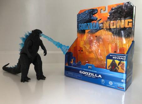 PlayMates Toys Godzilla With Heat Ray Figure (Review)