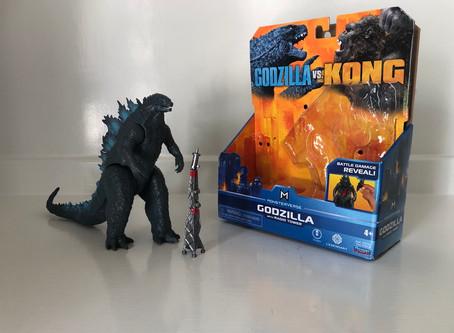 PlayMates Toys Godzilla With Radio Tower (Review)
