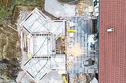 Baustellendokumentation_Dach per Drohne.