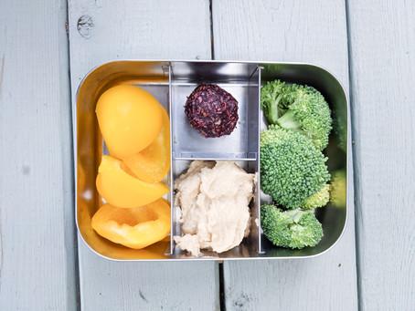 5 Vegan Lunchbox ideas