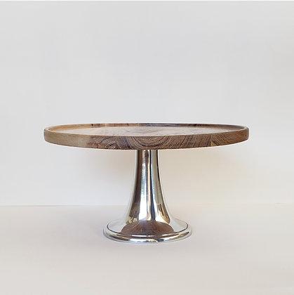 Tortero/pedestal madera