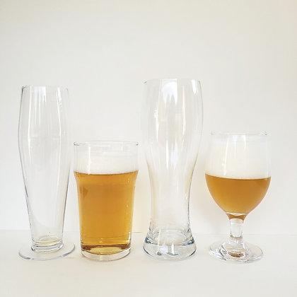 Set 4 vasos cerveceros