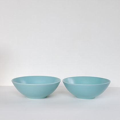 Set 2 bowl M turquesa