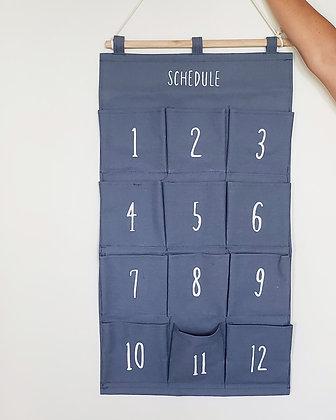 Organizador números