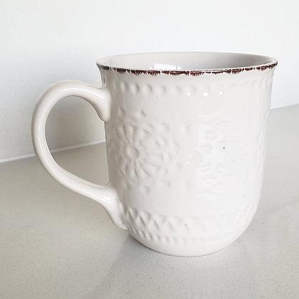 Taza blanca diseño