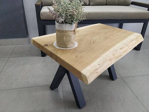 Bampton Mini X Oak Slab Coffee Table