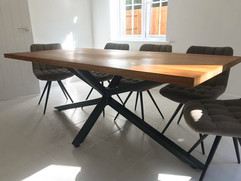 Scorpion Solid Oak Table