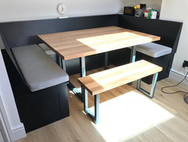Bespoke Oak Kitchen Table