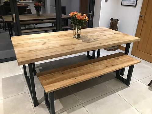 Oxford Solid Oak Dining Table