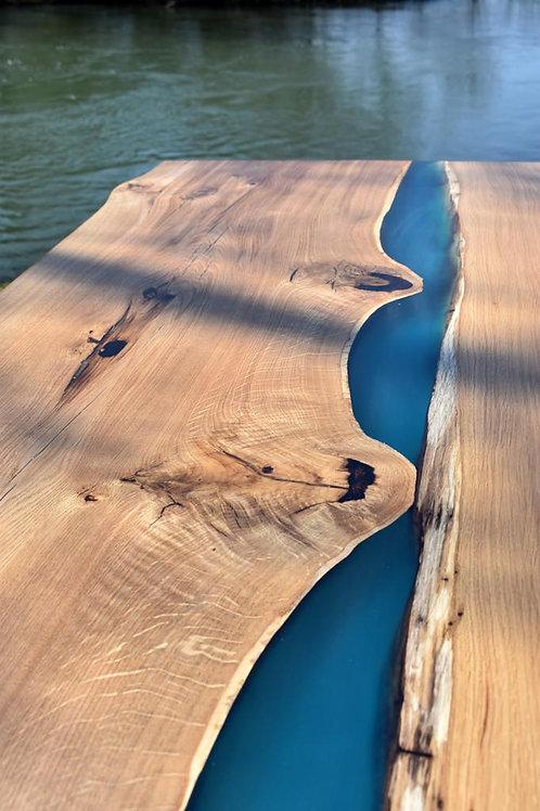 Whychwood Oak Resin Table