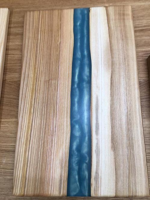 Solid Oak Resin Chopping Board