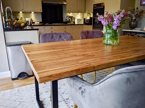 The Cumbria Oak Dining Table