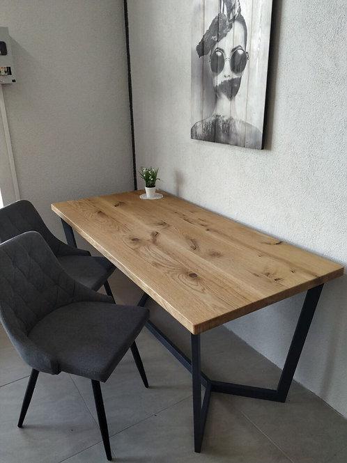 Work-From-Home Oak desk
