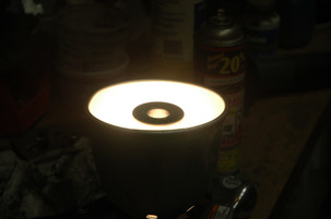 Redneck bearing heater!